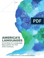 Commission on Language Learning Americas Languages