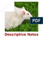 Descriptive Notes