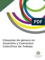 Cláusulas de género en Acuerdos y Convenios Colectivos de Trabajo