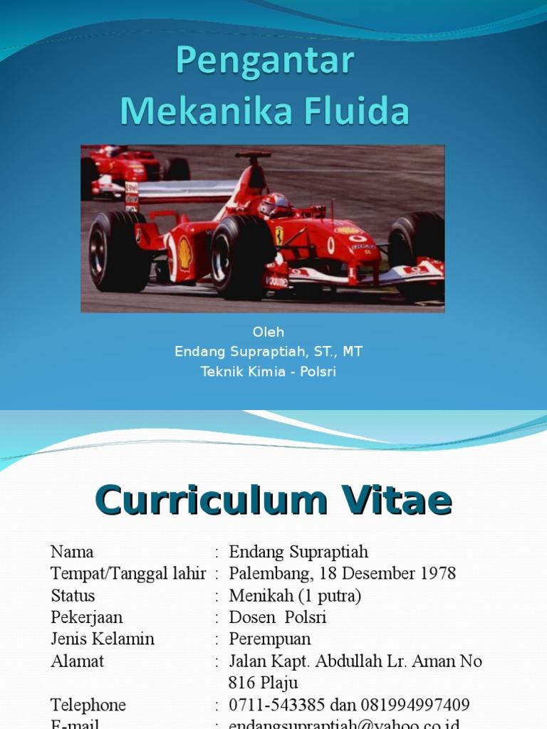 Mekanika fluida-pertemuan 1. Ppt.