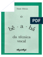 O Be a Ba Da Tecnica Vocal_ Vanda Oiticica