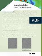 Migracion en Profundidad Pre-Apilamiento de Kirchoff