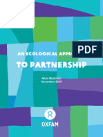 An Ecological Approach to Partnership