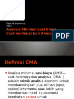 Chapter 3 - Analisis Minimalisasi Biaya