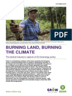 Burning Land, Burning the Climate
