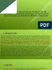 Tecnologiass de Tratamiento de Aguas Residuales