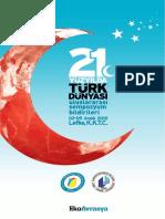 21. YÜZYILDA TÜRK DÜNYASI  Lefke  2 - 5 Aralık  2010.pdf