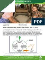 Governance in Myanmar