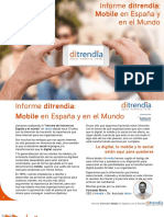 Ditrendia Informe Mobile en España y en El Mundo