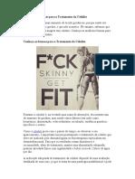 As Melhores Formas Para o Tratamento Da Celulite