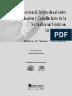 normativa ambiental en america latina