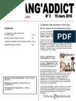 Journal Mangaddict N3