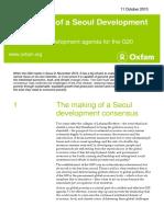 The Making of a Seoul Development Consensus