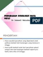 1. Perubahan Fisiologi Nifas