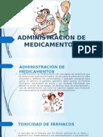 Administración de Medicamentos 11