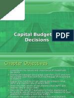 58236701 Capital Budgeting