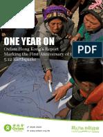 China Earthquake One Year On