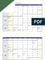 Calendario Mx
