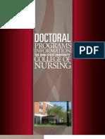OSU College of Nursing Doctoral Brochure
