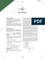Module 04 - Game Theory