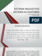 Sistema Inquisitivo y Sistema Acusatorio