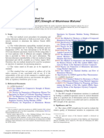 D6931 − 12 Standard Test Method for Indirect Tensile (IDT) Strength of Bituminous Mixtures1-Tercera