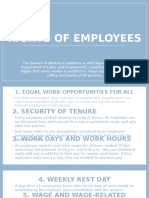 Buctuan, Rustine Rose_Rights of Employees
