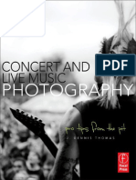J. Dennis Thomas. Concert and Live Music Photography. Pro Tips From the Pit. 2012