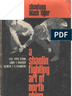 Shantung Black Tiger Kung fu