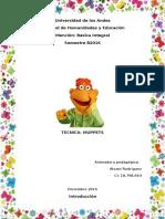 Trabajo Singular Muppets