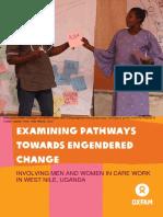 Examining Pathways Towards Engendered Change