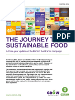 The Journey to Sustainable Food
