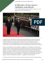 Ignatieff - La Democrazia Liberale e Il Suo Nuovo Nemico_ Il Capitalismo Autoritario