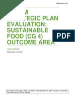 Oxfam Strategic Plan Evaluation