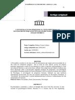 A Investigação Do Psiquismo Na Visão Freudiana - Artigo(1)