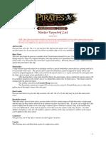 Pirates Master Keyword List