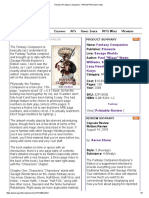 __bypass__Review of Fantasy Companion