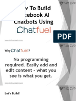 How to Build Facebook AI Chatbots Using Chatfuel