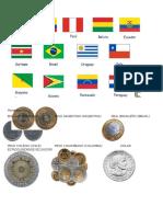 13 Paises de SudAmerica