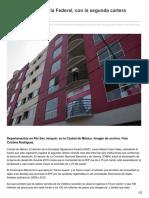 01/Marzo/2017 Sociedad Hipotecaria Federal Con La Segunda Cartera Vencida Más Alta