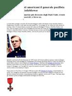 Contro i Fascisti Americani Un Generale Pacifista
