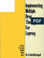 Implementing Multiple Drug Therapy for Leprosy