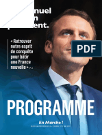 Programme Emmanuel Macron