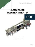 Manual de Mantenimiento Planta Asfalto Marini