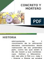 Segunda Sesion Construccion II - Concreto y Mortero