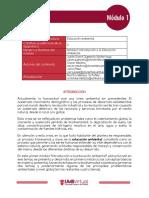 Módulo 1 - Educación Ambiental I-2016 SEGUNDO