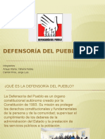 Defensoría Del Pueblo Diapositivas
