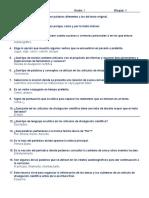 Bloque 3 Cuestionario Repaso Español con respuestas