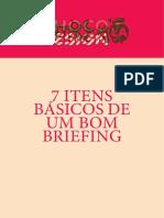 7 Itens Básicos de Um Bom Briefing