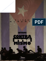 Informe Contra Mi Mismo - Eliseo Alberto